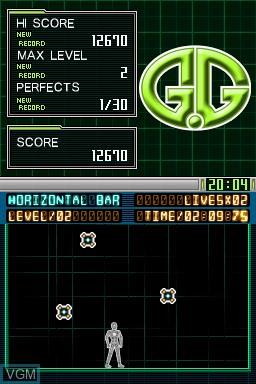 Image in-game du jeu G.G Series - Horizontal Bar sur Nintendo DSi