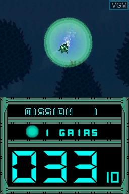 Image in-game du jeu Abyss sur Nintendo DSi