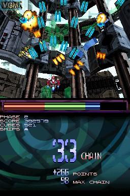 Image in-game du jeu Metal Torrent sur Nintendo DSi