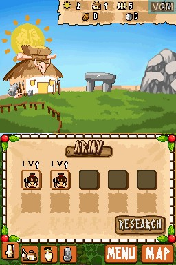 Image in-game du jeu Ancient Tribe sur Nintendo DSi