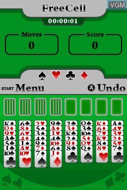 Image in-game du jeu 5 in 1 Solitaire sur Nintendo DSi