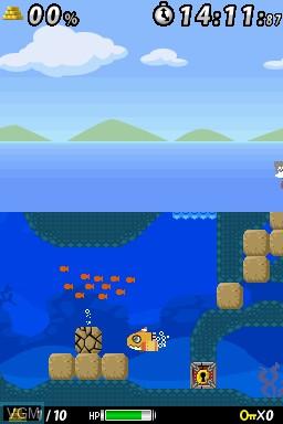 Image in-game du jeu GO Series - Captain Sub sur Nintendo DSi
