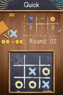 Image in-game du jeu Academy - Tic-Tac-Toe sur Nintendo DSi
