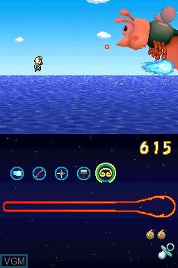Image in-game du jeu Paul's Shooting Adventure 2 sur Nintendo DSi