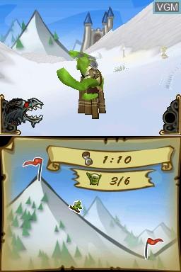 Image in-game du jeu Trollboarder sur Nintendo DSi