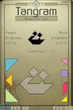 Image in-game du jeu 505 Tangram sur Nintendo DSi