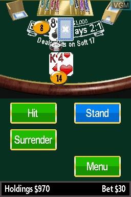Image in-game du jeu 21 - Blackjack sur Nintendo DSi