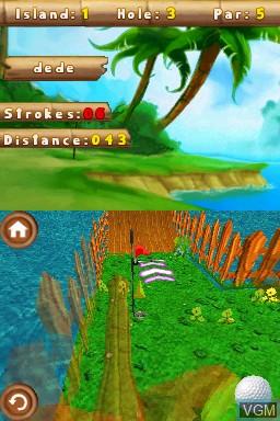 Image in-game du jeu 101 MiniGolf World sur Nintendo DSi
