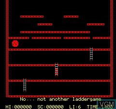 Image de l'ecran titre du jeu Playground 21 sur Tangerine Computer Systems Oric