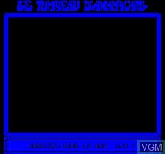 Image de l'ecran titre du jeu Tombeau D'Axayacat, Le sur Tangerine Computer Systems Oric