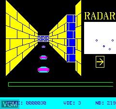 Image du menu du jeu 3D Munch sur Tangerine Computer Systems Oric