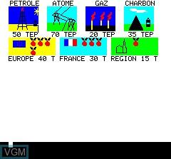 Image du menu du jeu Affaire En Or, Une sur Tangerine Computer Systems Oric