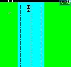 Image du menu du jeu Death Driver sur Tangerine Computer Systems Oric