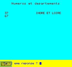Image du menu du jeu La France Quiz sur Tangerine Computer Systems Oric