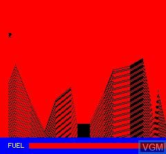 Image du menu du jeu Luna Landa sur Tangerine Computer Systems Oric
