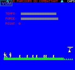 Image du menu du jeu Parcours Du Combattant, Le sur Tangerine Computer Systems Oric