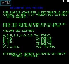 Image du menu du jeu Pendu sur Tangerine Computer Systems Oric