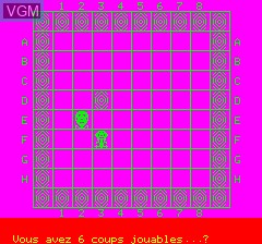 Image in-game du jeu Orible sur Tangerine Computer Systems Oric