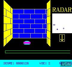 Image in-game du jeu 3D Munch sur Tangerine Computer Systems Oric