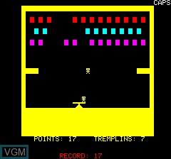 Image in-game du jeu Acrobate sur Tangerine Computer Systems Oric