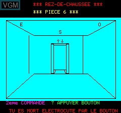 Image in-game du jeu Agent 0013 sur Tangerine Computer Systems Oric