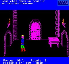 Image in-game du jeu Aigle D'Or, L' sur Tangerine Computer Systems Oric