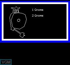 Image in-game du jeu Antre De La Peur, Le sur Tangerine Computer Systems Oric