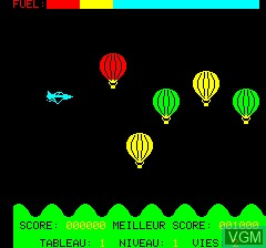 Image in-game du jeu A.T.M - Air Terre Mer sur Tangerine Computer Systems Oric