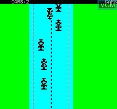 Image in-game du jeu Death Driver sur Tangerine Computer Systems Oric