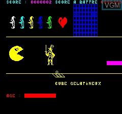 Image in-game du jeu Lancelot sur Tangerine Computer Systems Oric