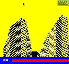 Image in-game du jeu Luna Landa sur Tangerine Computer Systems Oric
