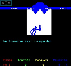 Image in-game du jeu Obelix sur Tangerine Computer Systems Oric