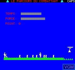 Image in-game du jeu Parcours Du Combattant, Le sur Tangerine Computer Systems Oric