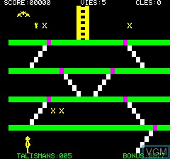 Image in-game du jeu Talisman sur Tangerine Computer Systems Oric