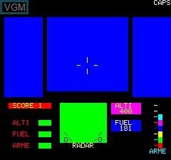 Image in-game du jeu Tigre sur Tangerine Computer Systems Oric