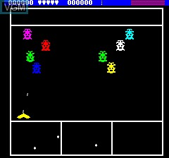 Image in-game du jeu Ultima Zone sur Tangerine Computer Systems Oric