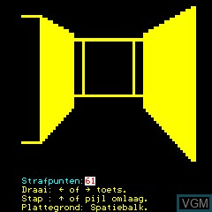 Image in-game du jeu 3D Doolhof 2 sur Philips P2000T