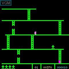 Image in-game du jeu Monkey Kong sur Philips P2000T
