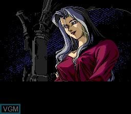 Image de l'ecran titre du jeu Angels II - Holy Night sur NEC PC Engine CD