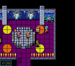 Image du menu du jeu Aurora Quest Otaku no Seiza sur NEC PC Engine CD