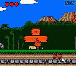 Image du menu du jeu 4 in 1 Super CD sur NEC PC Engine CD