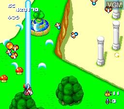 Image in-game du jeu Star Parodia sur NEC PC Engine CD