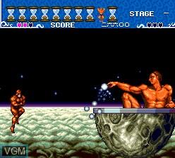Image in-game du jeu Ai Chou Aniki sur NEC PC Engine CD