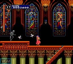 Image in-game du jeu Akumajou Dracula X - Chi No Rondo sur NEC PC Engine CD