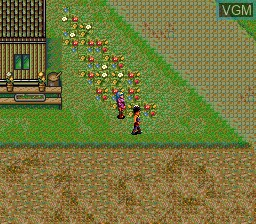 Image in-game du jeu Babel sur NEC PC Engine CD