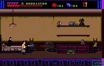 Image in-game du jeu Addams Familly, The sur NEC PC Engine CD