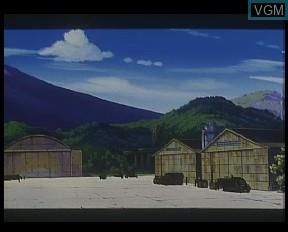 Image du menu du jeu Choujin Heiki Zeroigar sur NEC PC-FX