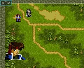 Image du menu du jeu Farland Story FX sur NEC PC-FX