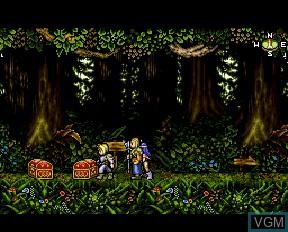 Image in-game du jeu Last Imperial Prince sur NEC PC-FX