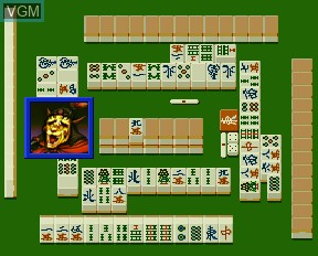 Image in-game du jeu Mahjong Gokuu Tenjiku sur NEC PC-FX